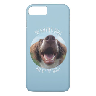 Happy Rescue Dog iPhone 7 Case
