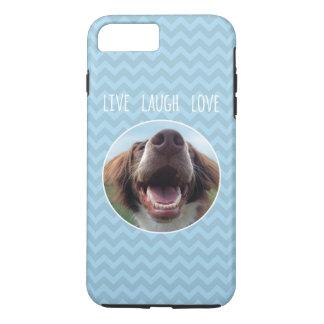 Happy Rescue Dog, Live Laugh Love iPhone 8 Plus/7 Plus Case