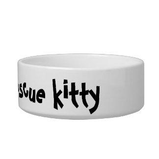 Happy Rescue Kitty Bowl