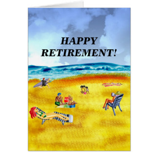 HAPPY RETIREMENT! CARD