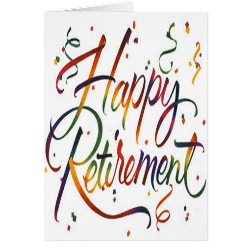 Happy Retirement Card   Zazzle