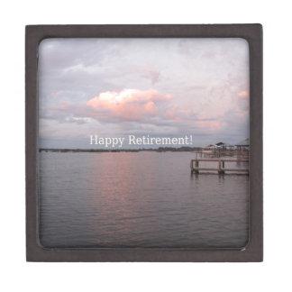 Happy Retirement - Cedar Key Florida Gift Box