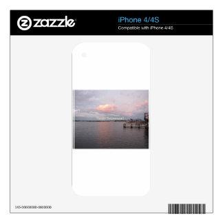 Happy Retirement - Cedar Key Florida iPhone 4 Skins