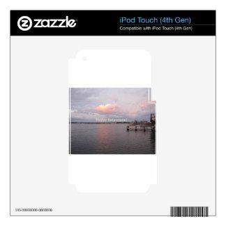 Happy Retirement - Cedar Key Florida Skin For iPod Touch 4G