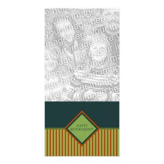 happy retirement (diamondStriped) Card