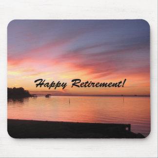 Happy Retirement Florida Sunset Mousepad