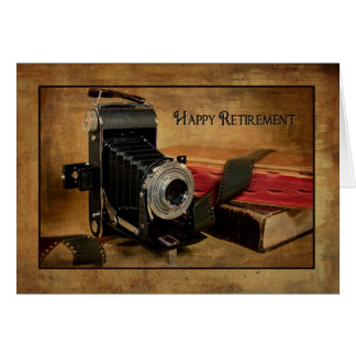 Happy Retirement for Photographer Card