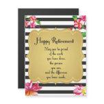Happy Retirement Quote Farewell Gift