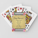 Happy Retirement Quote Farewell Gift Playing Cards