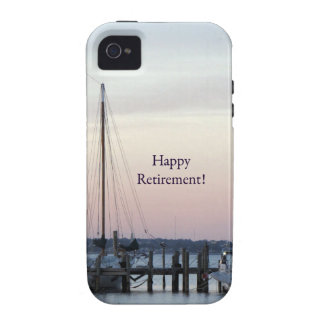 Happy Retirement Sailboats Sea Case-Mate iPhone 4 Covers
