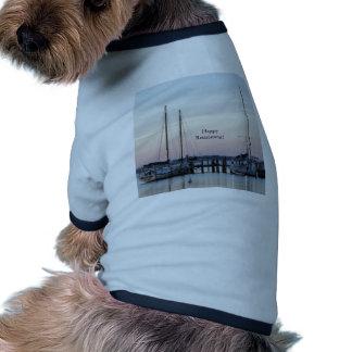 Happy Retirement Sailboats Sea Pet T Shirt