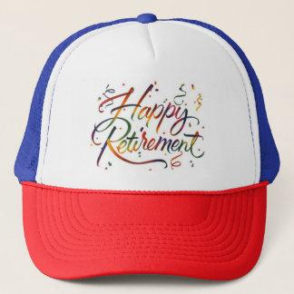 Happy Retirement Trucker Hat