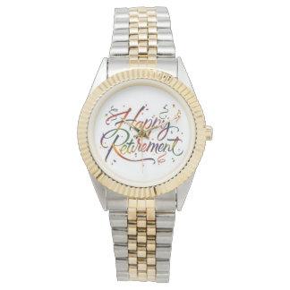 Happy Retirement Wrist Watch