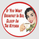 Happy Retro Housewife Stickers 3
