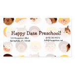Happy Retro Kids Too Business Card Template
