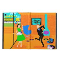 Happy Retro Parents iPad Air Case