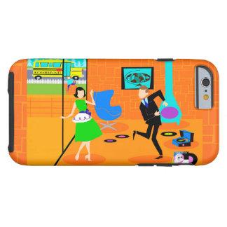 Happy Retro Parents iPhone 6 Case