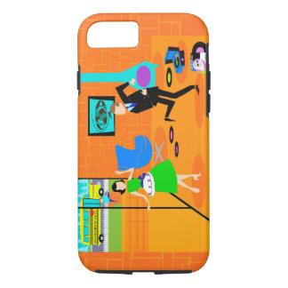 Happy Retro Parents iPhone 7 Case