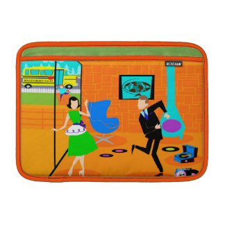 Happy Retro Parents MacBook Air Sleeve