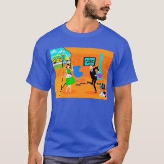 Happy Retro Parents T-Shirt