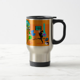 Happy Retro Parents Travel Mug