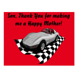 Happy Reverse Mother's Day Postcard