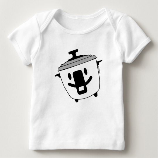 Happy Rice Cooker Baby T-Shirt
