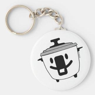 Happy Rice Cooker Keychain