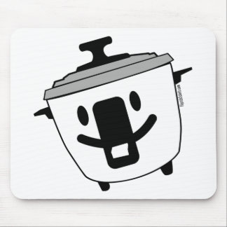 Happy Rice Cooker Mouse Pad