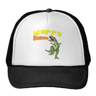 Happy Roaring Trucker Hat
