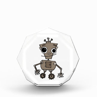 Happy Robot Acrylic Award