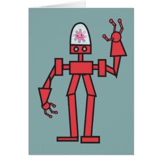 Happy Robot Card