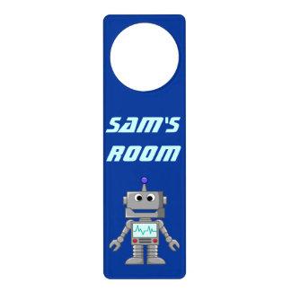 Happy Robot Door Hanger