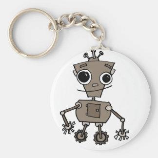Happy Robot Keychain