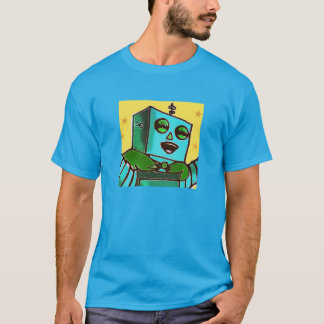 Happy Robot Men's T-Shirt