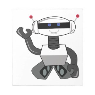 Happy Robot Notepads