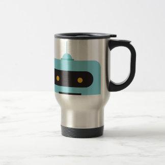 Happy Robot Travel Mug