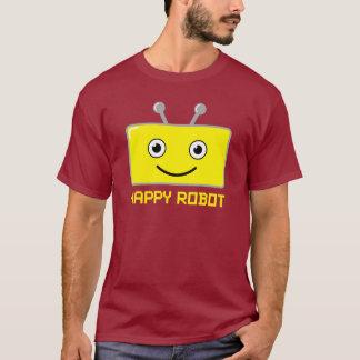 Happy Robot (yellow) T-Shirt