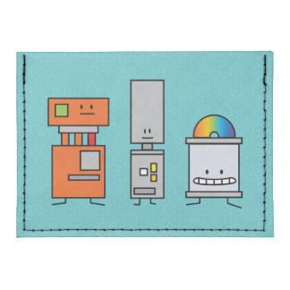 Happy Robots Tyvek® Card Wallet