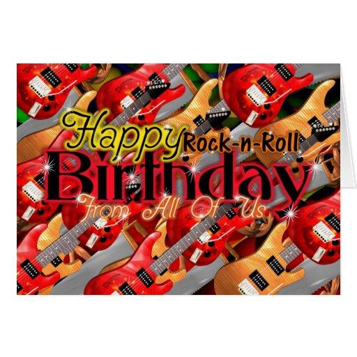 Поздравления с днем рождения в стиле рок стихи 73