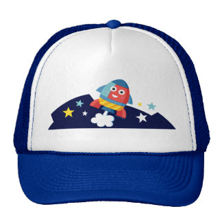 Happy Rocket Hat