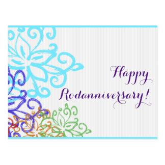 Happy Rodanniversary - Double-sided Postcard