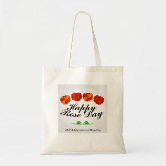 Happy Rose day Tote Bag