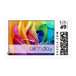 Happy Rose | Happy Birthday Stamp