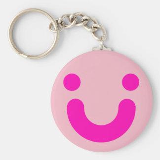 Happy rose keychain