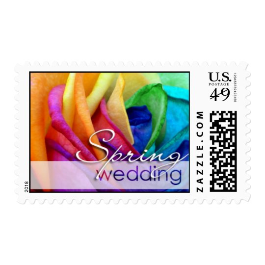 Happy Rose | Spring Wedding Postage