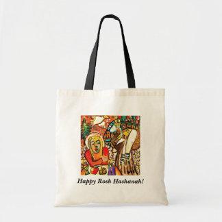 Happy Rosh Hashanah Gift/Tote Bag - Shofar