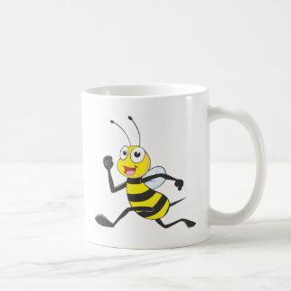 Happy Running Bee Coffee Mug