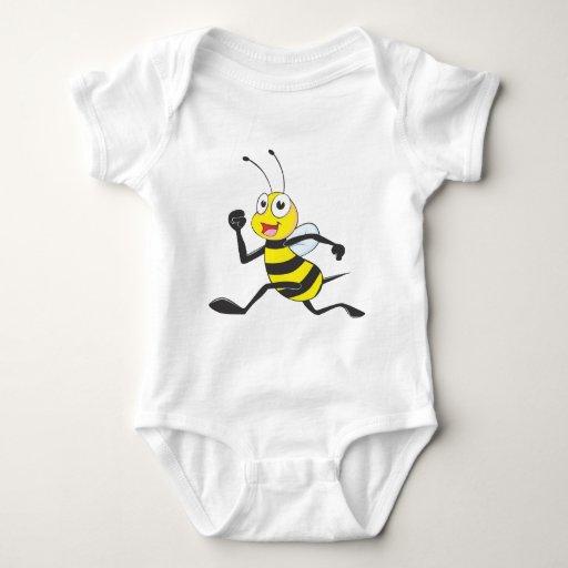Happy Running Bee T-shirts