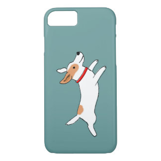 Happy Running Jack Russell Terrier - Cute Dog iPhone 8/7 Case